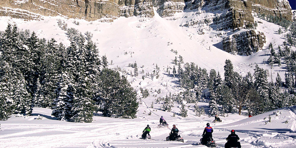 Jackson Hole Snowmobiling Experience