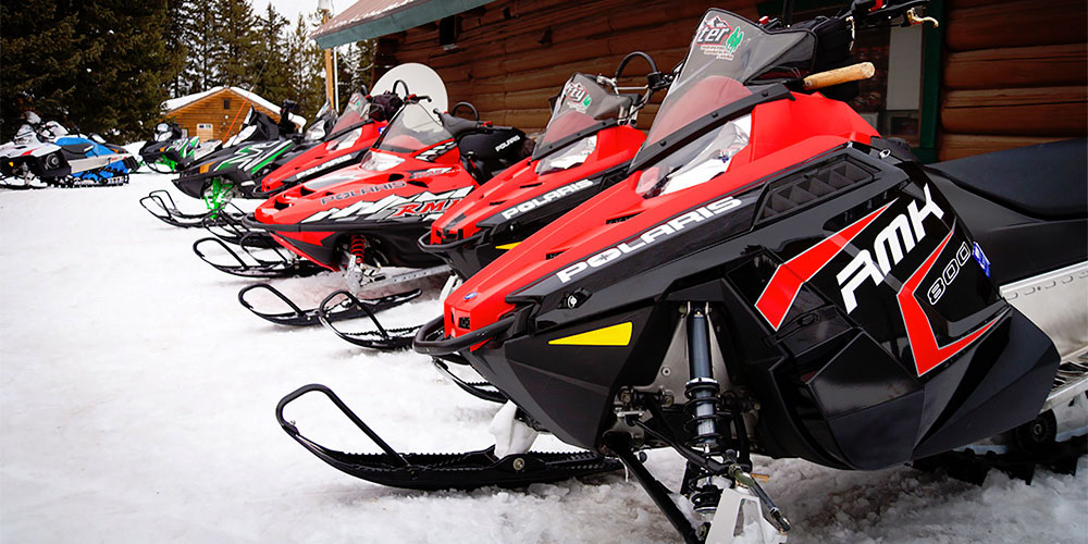 Togwotee Pass Snowmobiling Experience